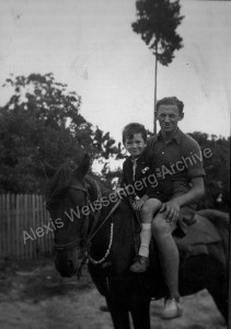 1934 Horse riding
