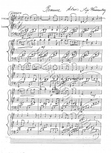 1943 Romance for Violin and Piano 1