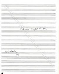 Cadenza Mozart K.467 Cover