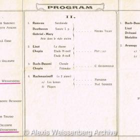 1936 Programme Turkey 2