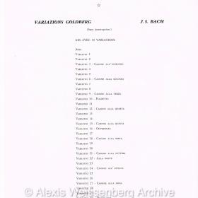1975 June 17 Programme Champs Elysées Goldberg 2