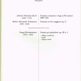 1982 Programme Bologna
