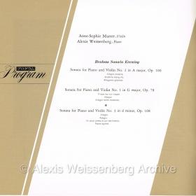 1982 Programme Osaka Mutter