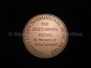 Beethoven Medal front