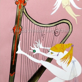 Harpie, the harpist
