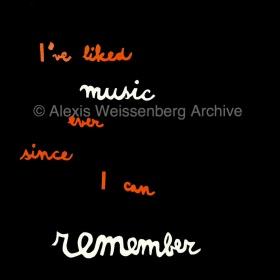I've liked music...