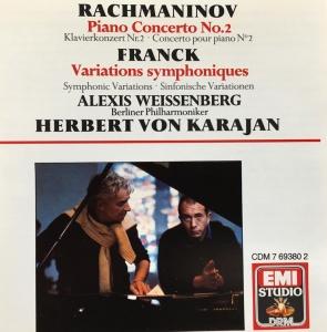 Rachmaninov Karajan cover