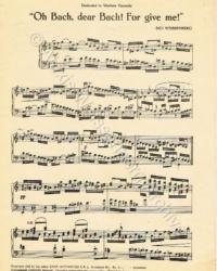 Oh Bach 2