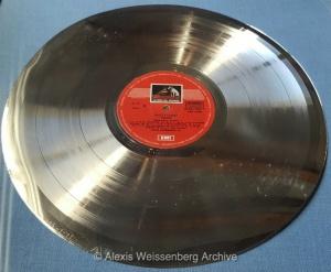 Platinum Disc Award EMI Italy