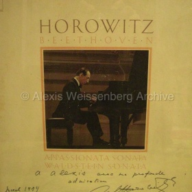 Horowitz dedicated record 1974