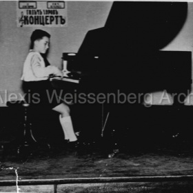 One of his very first concerts