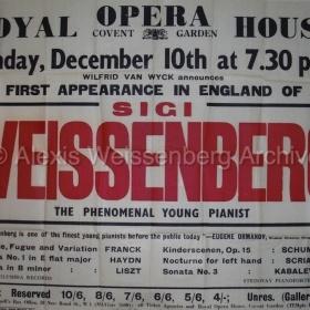 Covent Garden First Concert