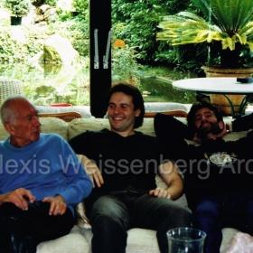 With Simon Mulligan and Alessandro De Luca in Muzzano