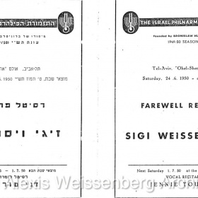 1950 June 24 Farewell Recital 2