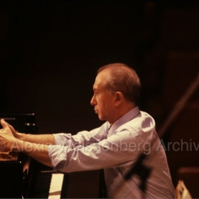 1989 During rehearsal