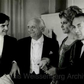 With Asen Naydenov, Raina Kabaivanska, Emil Tchakarov