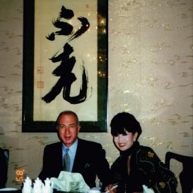 With Tetsuko Kuroyanagi