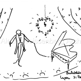 Un dessin pour la vie. Gala for Cancer Research. 1980
