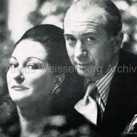With Montserrat Caballé 1979