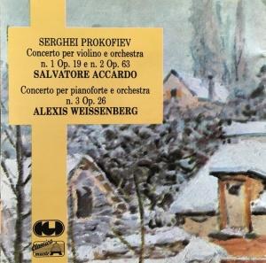 Prokofiev Celibidache cover