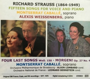 cd Caballé Strauss cover