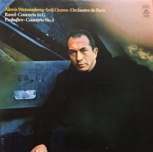 lp Ravel Ozawa cover