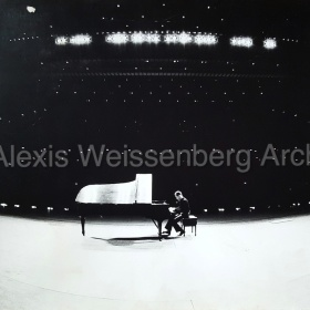Rehearsing in front of an empty hall