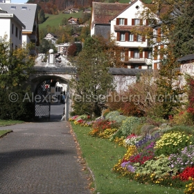 The entrance to the Kloster Engelberg