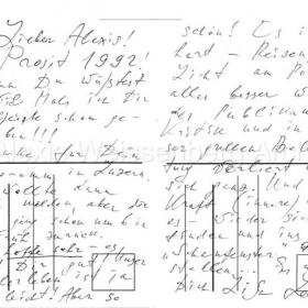1959 Letter from Elisabeth Leonskaja