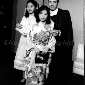1972 in Japan with some young fans