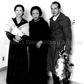 1972 with Michi and Fujiko Murayama, directors of the Osaka International Music Festival
