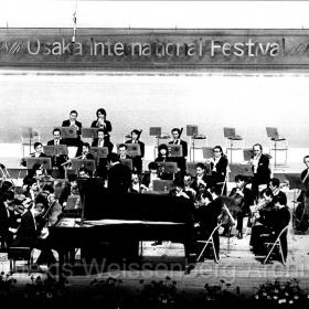 1975 in Osaka with Hiroyuki Iwaki and the NHK Symphony Orchestra