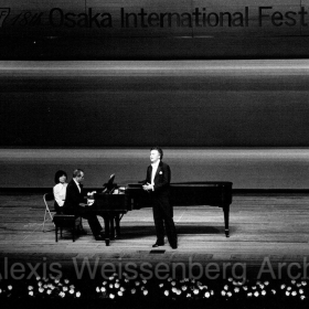 1975 in Osaka with Nicolai Gedda