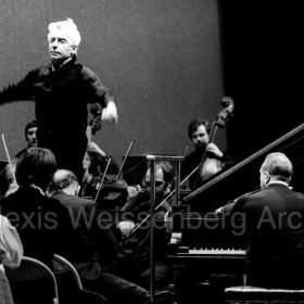 1977 in Osaka Brahms 2nd rehearsal with Karajan