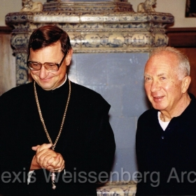 1993 with Abbot Berchtold in Engelberg