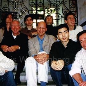 1995 Engelberg with pupils copia