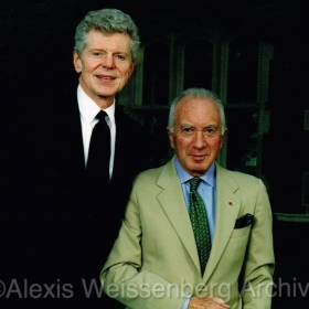 1997 With Van Cliburn at the X Competition