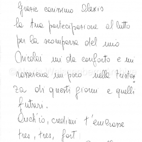 2004 Letter from Mirella Freni