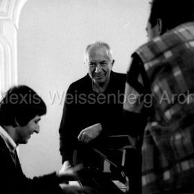 1994 in Engelberg with Lev Vinocour