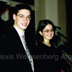 Maria Sissi and Shai Wosner in Engelberg