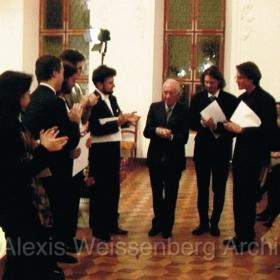 In Engelberg with F. Piemontesi, F. Vaysse-Knitter, R. Lustchevsky, S. Wosner