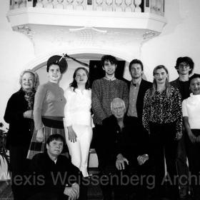 In Engelberg with, among others, B. Hodel, T. Kolesova, A. Stella, A. Ponochevny, M. Porat, C. Gordeladze