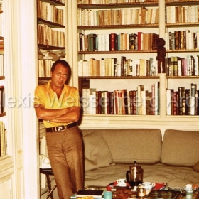 1977 at home in Paris