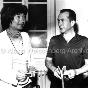 With Seiji Ozawa