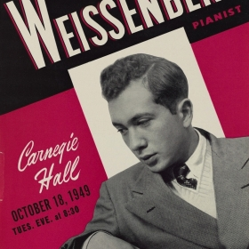 1949 Carnegie Hall Promotional Flyer