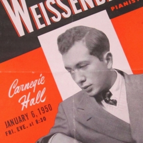 1950 Carnegie Hall Promotional Flyer