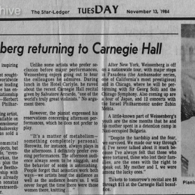 1980 November The Star-Ledger New Jersey review