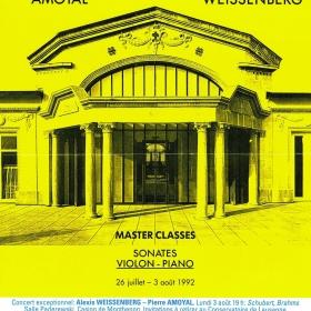 1992 Master Classes Lausanne