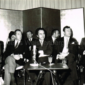 1970 Japan Press Conference with Serge Baudo and Georges Prètre