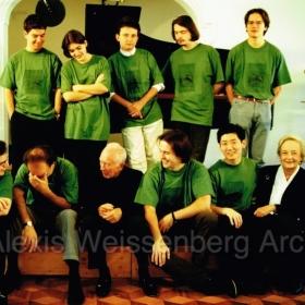 1999 Engelberg Master Classes with I. Bar Shai, D. Ionescu, R. Lustchevsky, F. Vaysse-Knitter, F. Piemontesi, K. Gerstein, N. Carusi, S. Mulligan, Won Kim